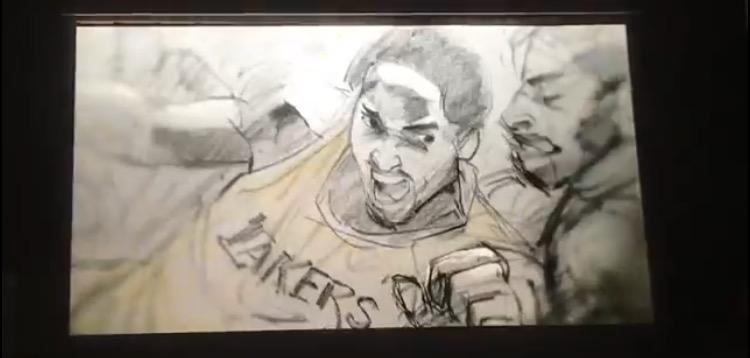 コービー・ブライアント 短編映画 親愛なるバスケットボール