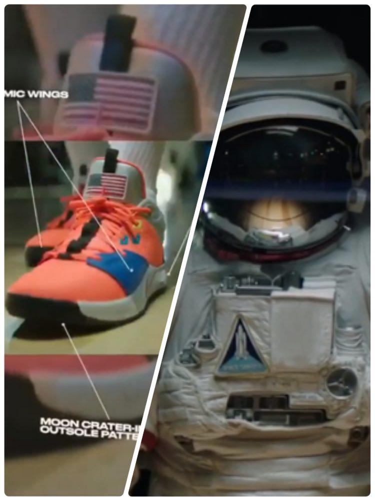 ナイキ PG 3 NASA