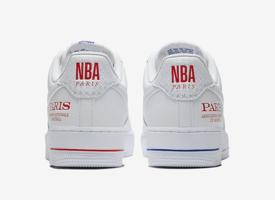 ナイキ エア フォース1 ロー NBA パリ